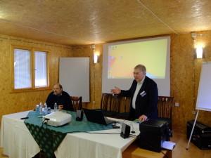 От ляво на дясно: Николай Йорданов, Кирил Разлогов