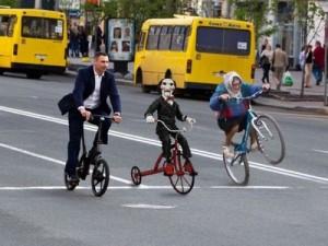 Част от ,,Ангелите'' вилнеят по софийска улица
