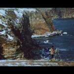 Кадър от игралния филм ,,Пет жени на фона на морето''