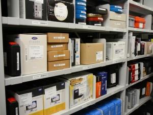 Хранилище за съхранение на дигитални носители