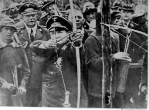 Кадър от филма ,,Обикновен фашизъм''
