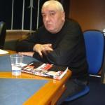 В едно от студията на Българското национално радио