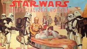 Постер на ,,деспециализираната'' версия на ,,Междузвездни войни''